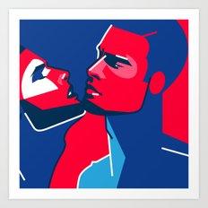 MALE 04 Art Print