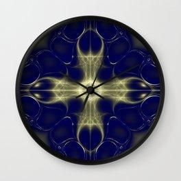 Fractal Abstract 13 Wall Clock