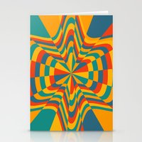 trippy Stationery Cards featuring Trippy by Ashley