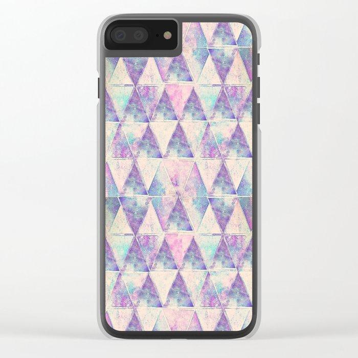 chevron-21 Clear iPhone Case