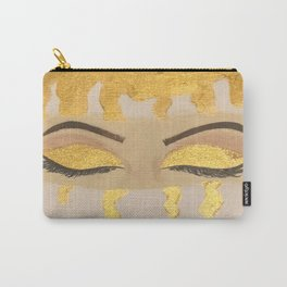 Dipped In Gold Carry-All Pouch