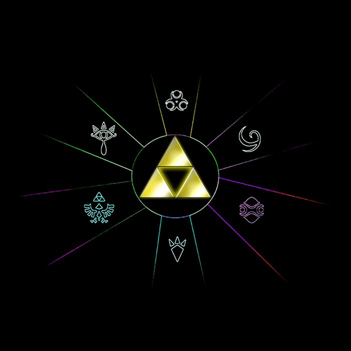 Zelda Triforce Symbol Duvet Cover By Alexasean Society6