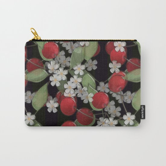 Cherry Charm, Imitation of glass Carry-All Pouch