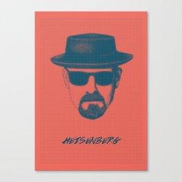 Heisenberg - Breaking Bad Poster Canvas Print