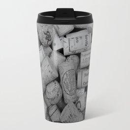 Corks B/W 4 Travel Mug