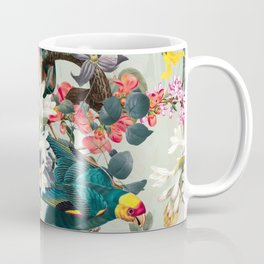 FLORAL AND BIRDS XXII Coffee Mug