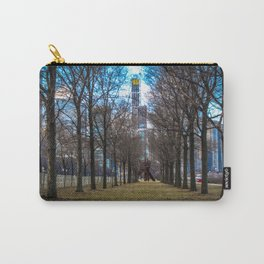 Downtown Windy City: Through The Trees Carry-All Pouch