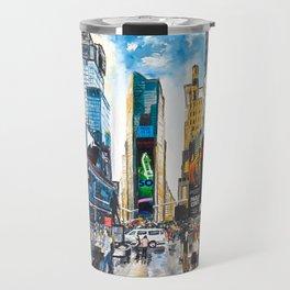 New York, Times Square Travel Mug