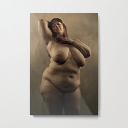 Big Beautiful Woman Metal Print