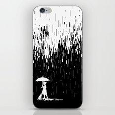 Pixel Rain iPhone & iPod Skin