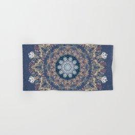Blue's Golden Mandala Hand & Bath Towel