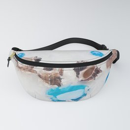 sea abstract background Fanny Pack