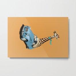 Riding High! (Colour) Metal Print