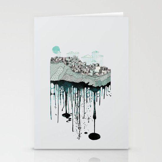Don't let it go to waste Stationery Cards