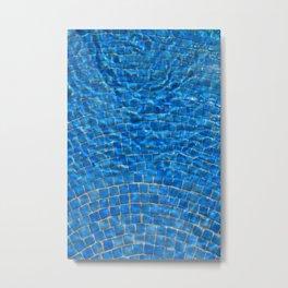 Cool Pool Water Metal Print