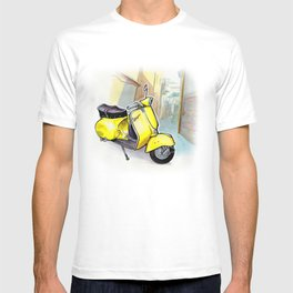 Giallo Vespa (Motocicletalia) T-shirt