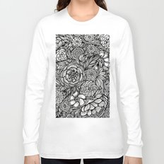 Peony Fascination Long Sleeve T-shirt