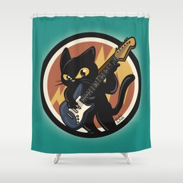Cool solo Shower Curtain