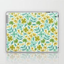 Clover & Floral Field Laptop & iPad Skin