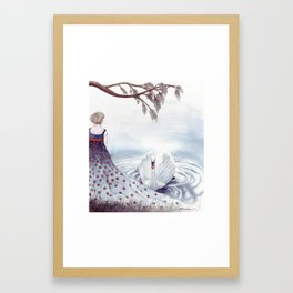 The Lagoon Framed Art Print