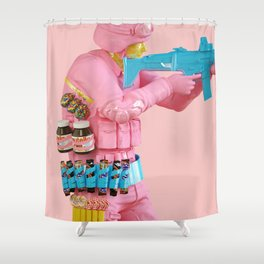 Deliciously Supplied Shower Curtain