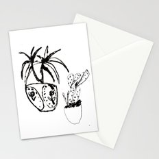 Plants in pots Stationery Cards