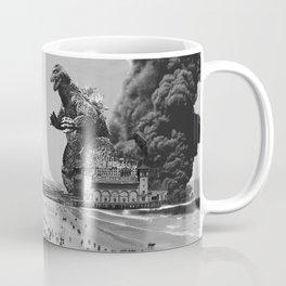Old Time Godzilla in Atlantic City Coffee Mug
