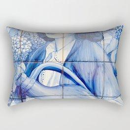 Azulejo mural Rectangular Pillow