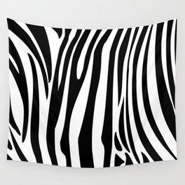 Zebra trendy design artwork animal exotic pattern Wall Tapestry