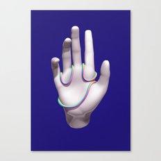 Face Palm Canvas Print