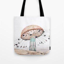 Mushroom Carousel Tote Bag