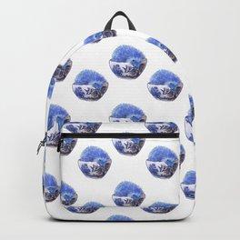 Hedgehog Hotub #2 Blue Willow Backpack