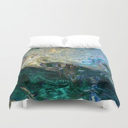 Sea Nymph Abstract Duvet Cover