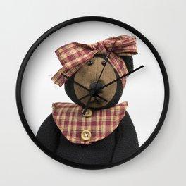 Old Fashioned Bear Wall Clock
