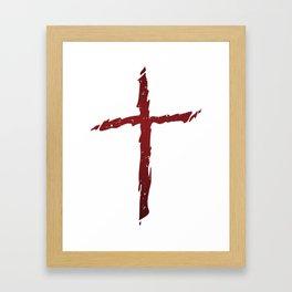 Rugged Cross Framed Art Print