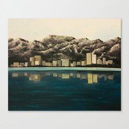 Azure Alaska Canvas Print