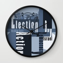 Election Day 3 Wall Clock