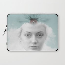 A girl who lived in a cloud Laptop Sleeve