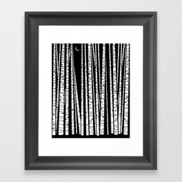 See the Forest Framed Art Print