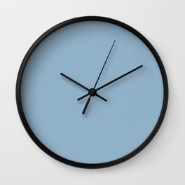Grey Blue Wall Clock