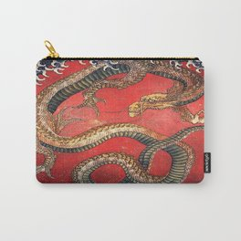 Dragon by Hokusai Carry-All Pouch
