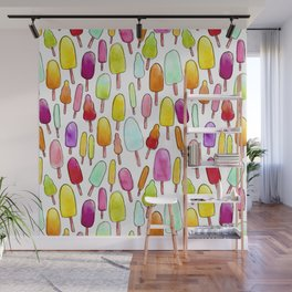 Popsicles Wall Mural