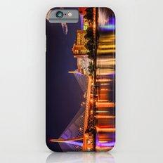 Moon light over Zakim bridge iPhone 6s Slim Case