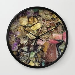 Gems collection 4 Wall Clock