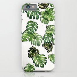 Monstera Garland  iPhone Case