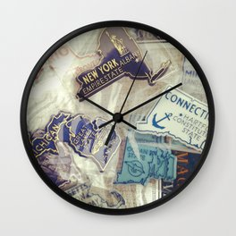 I've Been There Wall Clock