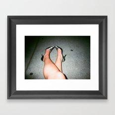 Girl Swag Framed Art Print