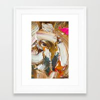 mouth Framed Art Prints featuring Mouth by ARMANDO MESIAS