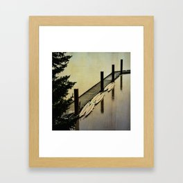 Rowing on the River Framed Art Print