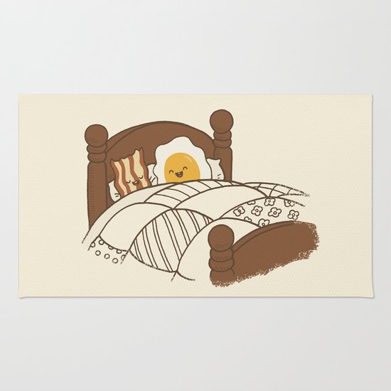 Breakfast In Bed  Rug